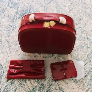 Brand New Estée Lauder Makeup case+bag+mirror set